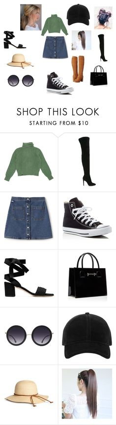 """Stuck in Fall"" by nylajacobs on Polyvore featuring Yves Saint Laurent, Gianvito Rossi, Lacoste L!VE, Converse, Alice + Olivia, rag & bone and Carlos by Carlos Santana"