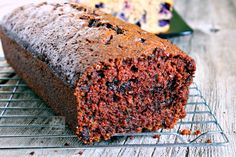 Super-moist, tender and delicious is this Double Chocolate Zucchini Bread. My kids really love this and they don't care even if there are veggies in it. It's that good!