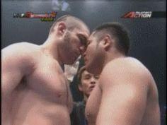 Un boxeador ansieta (a veces me siento).-