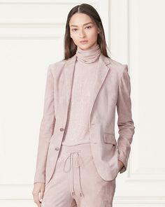 Yvette Suede Jacket - Collection Apparel Jackets - RalphLauren.com