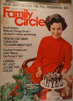 https://flic.kr/p/v4HrxW | Family Circle January 1970 | $6.00 each plus Shipping.