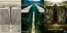 series of Maze Runner posters