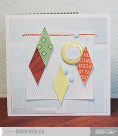card by Robyn Werlich featuring our ROLLER RINK kit and addons