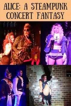 Steampunk Alice in Wonderland Musical at the Hard Rock in Las Vegas