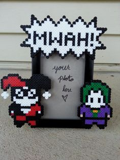 Harley Quinn and Joker Picture Frame - Couple's Picture Frame