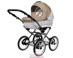 Sweet 3w1 wózek dziecięcy w stylu retro, modny design, funkcjonalność i duża radość z korzystania. #wozek #stroller #baby #dziecko Pram Stroller, Baby Strollers, Prams, Retro, Babe, Children, Blackberries, Ball Dresses, Wheels