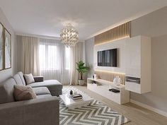 New house decor modern living room layout ideas Classy Living Room, New Living Room, Living Room Modern, Living Room Interior, Kitchen Interior, Living Area, Apartment Layout, Apartment Design, Home Room Design