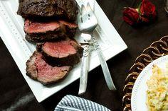 Roasted Beef Tenderloin with Henry Bain Sauce