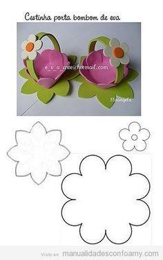 Super Ideas For Basket Easter Ideas Mothers Foam Crafts, Easter Crafts For Kids, Diy For Kids, Diy And Crafts, Arts And Crafts, Paper Crafts, Easter Ideas, Bijoux Art Deco, Diy Y Manualidades