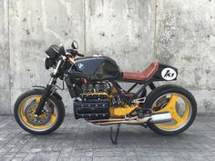 K1 CAFE RACER, can you keep the K1 ADN in a racer conversion?- BMW K75 K100 K1…