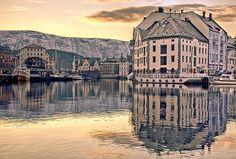 Ålesund Harbour, Norway