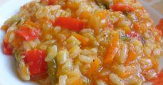 Υλικα 1/2 κουπα ρυζι καρολινα 2 μετριες ωριμες ντοματες στο μπλεντερ 2 φρεσκα κρεμμυδακια ψιλοκομμενα 1 μικρο πρασο ψιλοκομμενο 2 με... Weight Watchers Meals, Greek Recipes, Risotto, Macaroni And Cheese, Food And Drink, Vegan, Vegetables, Ethnic Recipes, Eten