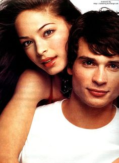 Tom Welling & Kristin Kreuk: Co-stars in Smallville. Wish they would've ended up together!<3