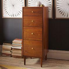 Birkin 4-Drawer File Cabinet   west elm