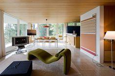 Richard Neutra: Rentsch House, Wengen, Switzerland