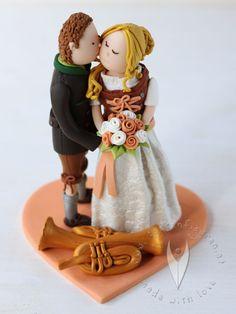 Die 25 Besten Bilder Von Hochzeitstorten Cake Toppers Fondant