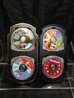 Lot of 4 PSP Games in a Nice Hard Case. Pac-Man World 3, Lego Batman, Sonic Riva