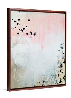 Blush Pink Art - Pop Fizz Abstract Art by Lindsay Letters.