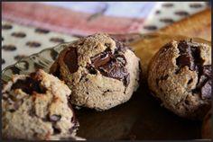 The eccentric Cook: Vegan banana buckwheat chocolate chip cookies