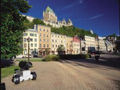 See bustling cities, magnificent Canadian Rockies, vast Prairies, French speaking Quebec, and coastal Halifax on this popular trans-Canada railway tour. Quebec Montreal, Old Quebec, Quebec City, Ottawa, Province Du Canada, Chute Montmorency, Places To Travel, Places To Visit, Grands Lacs