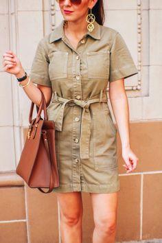 Summer Utility Dress
