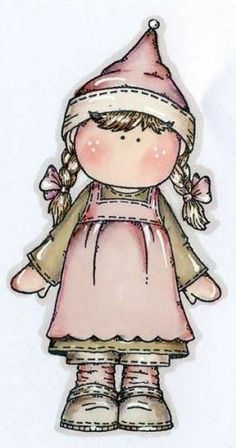 menina de tranças Arte Country, Pintura Country, Cute Images, Cute Pictures, Meninos Country, Decoupage, Country Paintings, Doodle Drawings, Digi Stamps