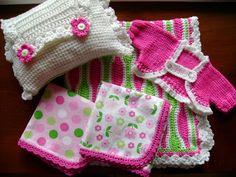 Lanas Hilos: Baby Set / Conjunto para Bebé