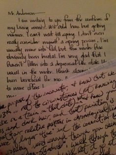 handwriting of a 25 year old vs a 72 year old