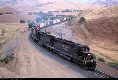 RailPictures.Net Photo: SP 7366 Southern Pacific Railroad EMD SD40 at Caliente, California by Greg Mross
