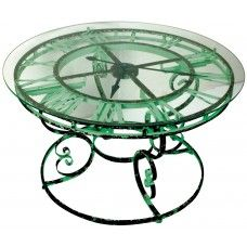 Coffee table clock on pinterest clock table clock and for Clock coffee table round
