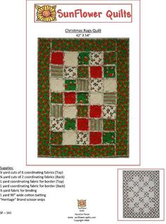 Christmas Rags Quilt