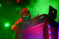 Rob Zombie performed last on the 'Twins of Evil' tour with Marilyn Manson and DJ Starscream at Allstate Arena in Chicago on Thursday, October 11, 2012. Rob Zombie- Vocals, Piggy D-Bass, John5-guitar and Ginger Fish-Drums. (Photo by Rachael Mattice/Journal & Courier)