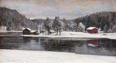 Winter Landscape from Kymintehdas, Victor Westerholm Finland Chur, Weather Fronts, Outdoor Clothing Brands, Alesund, Weather Seasons, Winter Scenery, Raincoats For Women, Winter Landscape, Outdoor Outfit