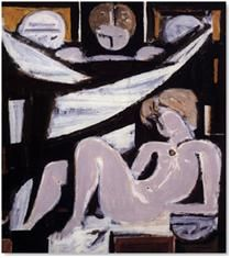 Moralis Yannis - Funerary Composition V, 1963 Vinavyl glue on canvas, 79 x 73 cm Donated by the artist inv. National Gallery, Greek Art, Art Database, Cubism, Figure Painting, Modern Art, Composition, Fine Art, Abstract