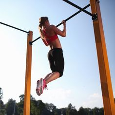 Want to learn how to do the dreaded chin-up? Do these moves until you have the upper body and core strength to master a chin-up.