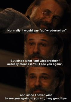 An Amazing Quote From A Fantastic Movie