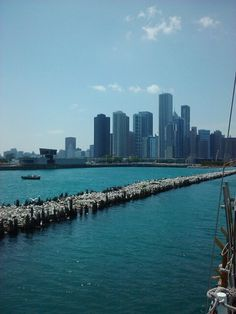 More pics that I took from the sail boat Tall Ship Windy in Chicago during the summer of 2010