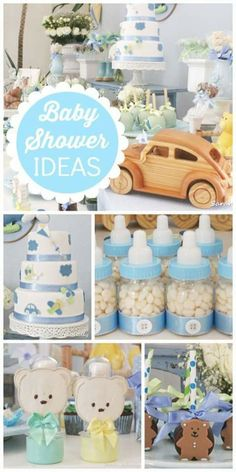 Baby showe Ideas, baby shower favors