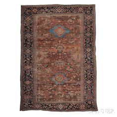 Sultanabad Carpet, West Persia, early 20th century,  15 ft. 1 in. x 10 ft. 4 in.     Skinner Auctioneers Sale 2752B