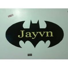 Amazon.com: Name on batman symbol: Home & Kitchen