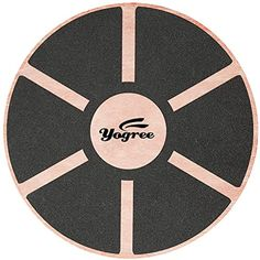 "Yogree 15.4"" Wooden Balance Board for Workout, Fitness, Balance Exercise  #ExerciseFitness"