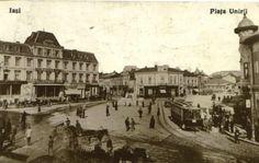 Piata Unirii, Iaşi Old Photography, Romania, Louvre, Street View, Building, Travel, Painting, Memories, Google