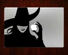 Wicked witch Macbook Pro / Air 13 Decal Stickers