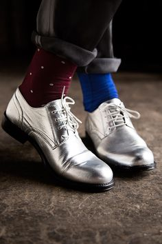 Carolyn Donnelly The Edit silver brogues Silver Brogues, Derby, What To Wear, Oxford Shoes, Dress Shoes, Women Wear, Lace Up, Fashion Design, Shopping