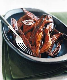 Spiced Sweet Potato Wedges | Get the recipe: http://www.realsimple.com/food-recipes/browse-all-recipes/spiced-sweet-potato-wedges-10000001694154