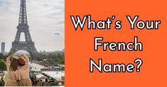 What's Your French Name Lisette Beautiful, unique, and interesting. You can captivate anyone with a simple smile or the wink of an eye. Others admire you for your great taste and true sense of ease. You seem to float through life on a cloud. Dog Quizzes, Quizzes For Kids, Quizzes Funny, Fun Quizzes To Take, Random Quizzes, Buzzfeed Quiz Funny, Quizzes Buzzfeed, Quizz Disney, Quiz Names