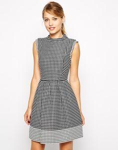 Enlarge Oasis Geo Jacquard Dress