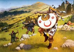 Thracians. Attack on a triballi hill fort, 424 BC