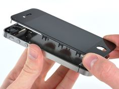 replace lcd/digitizer on iphone 4