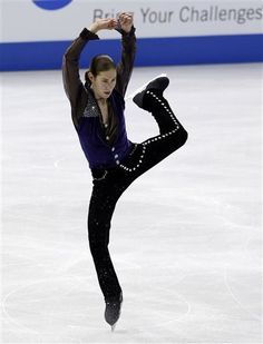 Jason Brown - I am in love with this kid. He's amazing. Gives me faith that men's skating won't descend into artistry-less jumping contests.